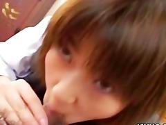 shinobu kasagi school time oral job