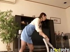 azhotporn.com - calm japanese helper getting