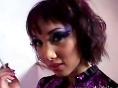 incredible oriental angel katsuni goes down on