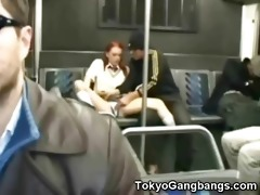 stupid white legal age teenager in tokyo!
