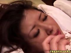 japanese older amateur enjoys anal