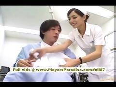 rio hot oriental nurse acquires in nature and