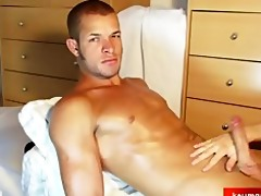 marlon a hawt hunk boy acquire wanked his massive