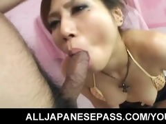 hawt japanese mother i receives her throat stuffed