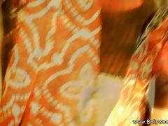 girl in artistic indian dance