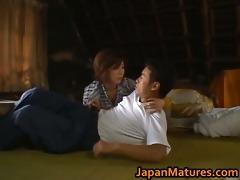 chisato shouda fascinating aged oriental chick