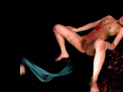 japanese queen cum-hole spanking a japanese ol