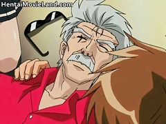 hot redhead manga chick receives petite cookie