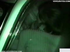 cum in throat inside of the car