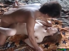 outdoor perverted japanese gal receive drilled