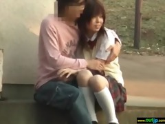 hardcore outdoor sex with asian hotty movie-22