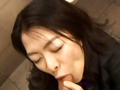 sexually excited oriental gives head