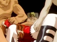 anime toons show breasty asians getting drilled