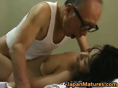 hawt oriental playgirl has older sex