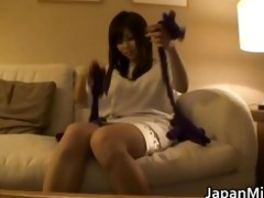 aya hirai ravishing youthful oriental wife have a