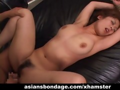 bound up oriental hottie acquires drilled lengthy