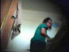 oriental legal age teenager washroom webcam