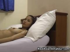 skinny oriental dilettante sloppy cock engulfing