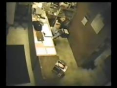 secretary masturbating spycam