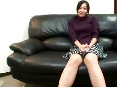 slutty asian mature is teasing camera