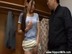 slutty unsuspecting oriental acquires fingered