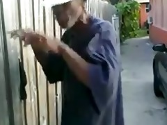 old dark fellow fucks japanese floozy in thed