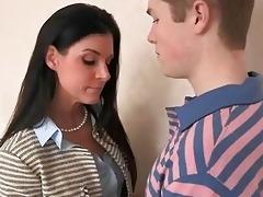 naught stepmom india summer seduces teenage lad