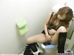 restroom masturbation
