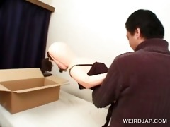 oriental fellow concerned to fuck blows his