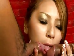 sakura kiryuhorny asian hotty gives blowjobs