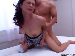 hawt marie sugimoto drilled from behind!
