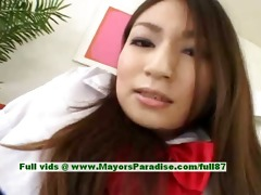 saori kurata hot japanese honey caresses her muff
