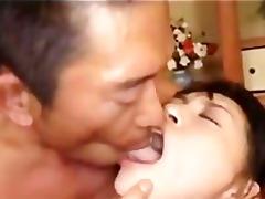 nice-looking japanese angel having 7way sex