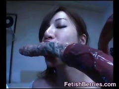 breasty youthful oriental cutie acquires