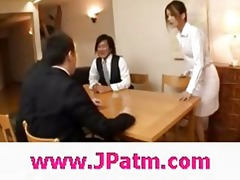 hibik ohtsuki japanese wife fucks in the kitchen