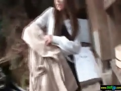 japanese hawt gal acquire outdoor hard sex clip-69