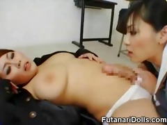 futanari is a sexy oriental ladyman that is