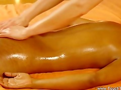 vehement tao massage by lesbo dark brown