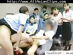 oriental stewardess teaching sweetheart s
