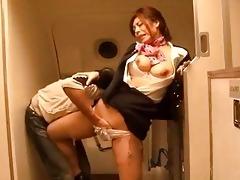 japanese wench gangbanged at work