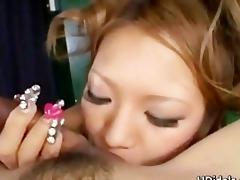 japanese idol yuuna enomoto engulfing threesome