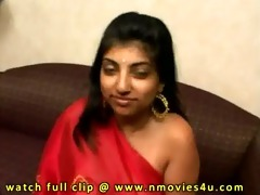 indian woman in red saree