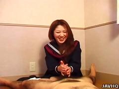 hot nanako hatsushima perverted cook jerking