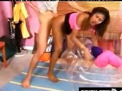 charming indian honey acquires drilled on an