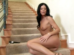 double sex toy enjoyment with india summer