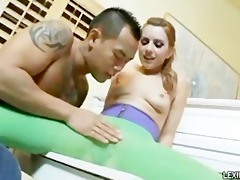 amwf lexi belle interracial with oriental boy