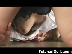 huge futanari ejaculation ever!