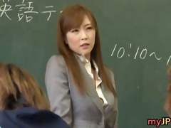kotone amamiya oriental teacher part1