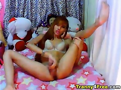 see this honey oriental sheboy have a fun playing