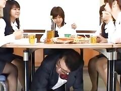 japanese av model in her nylons